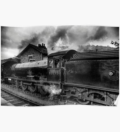 Steam Engine No.63395 Poster