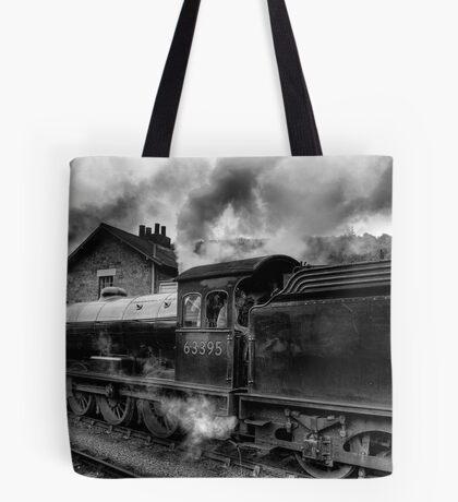Steam Engine No.63395 Tote Bag