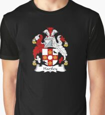 Hartley Coat of Arms - Family Crest Shirt Graphic T-Shirt