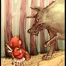 Little red riding hood  by ilyakap