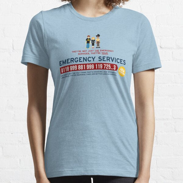 IT Crowd - Emergency Services Essential T-Shirt