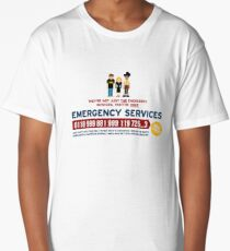 IT Crowd - Emergency Services Long T-Shirt