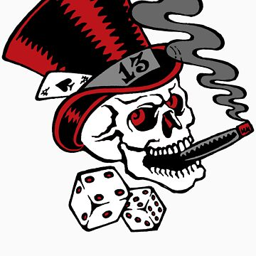 Hard Volume: Smokin' Skull by joenatoli