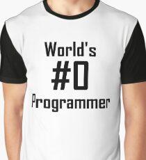 World's #0 Programmer Graphic T-Shirt