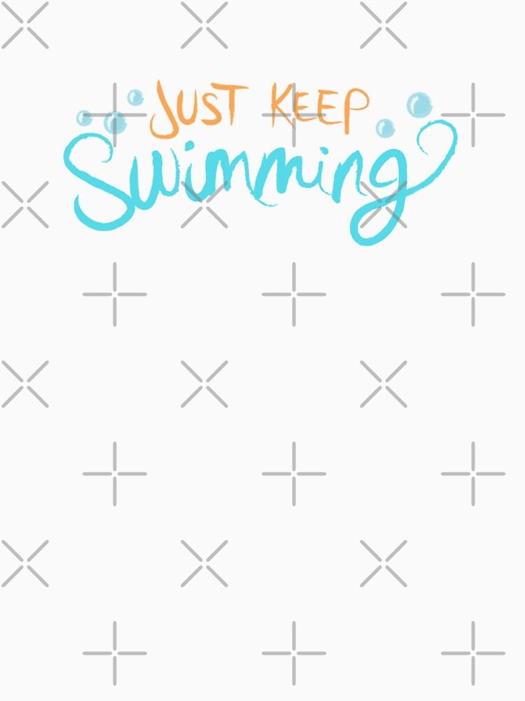 Einfach weiter schwimmen von LivelyLexie