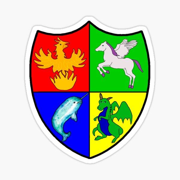 Imaginorium Academy Crest Sticker