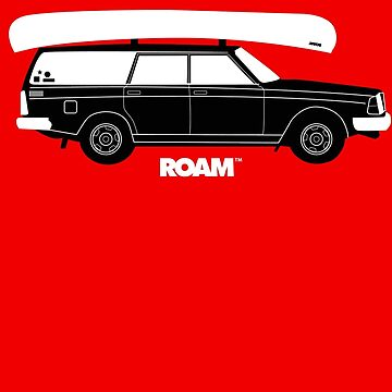ROAM Volvo Granola Wagon with Canoe by jpburdett