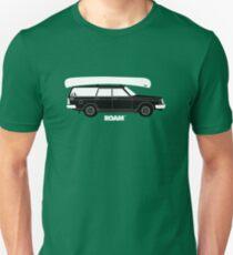 Camiseta ajustada ROAM Volvo Granola Wagon con canoa