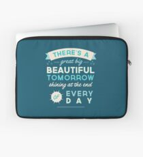 Beautiful Tomorrow Laptop Sleeve