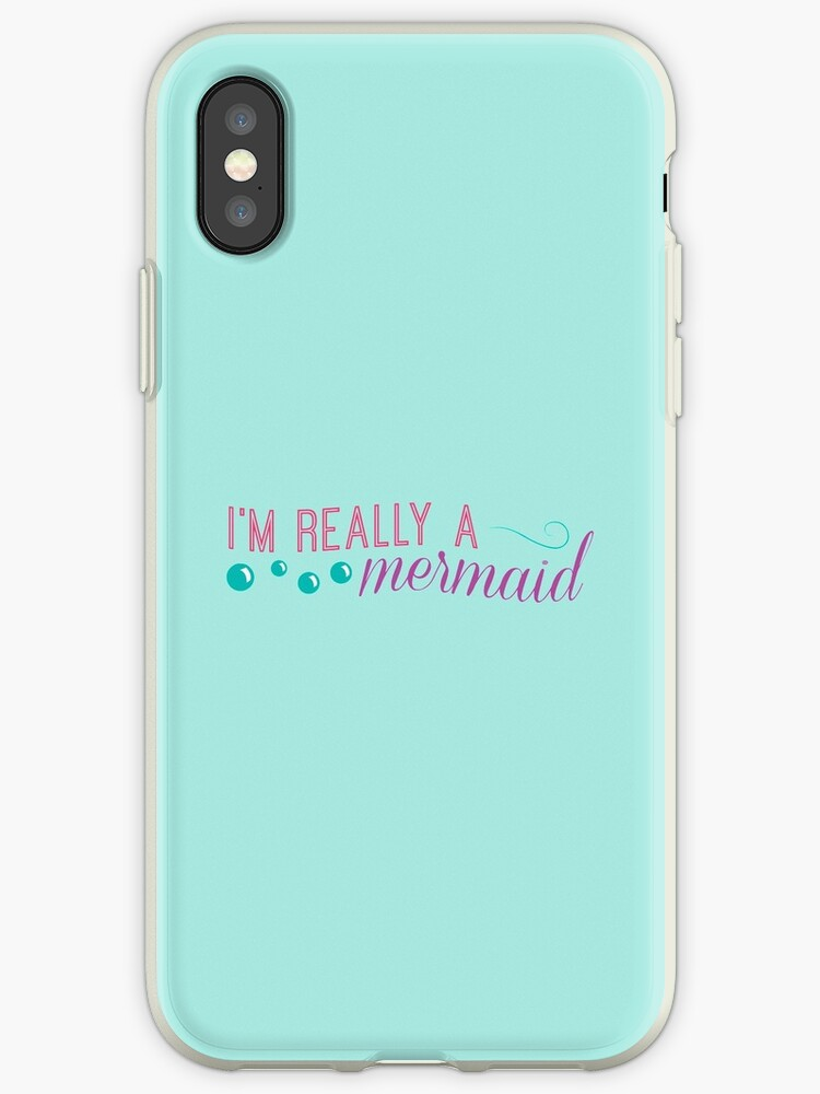 I'm really a mermaid - pink by LivelyLexie
