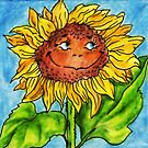 sunflower by Anthropolog