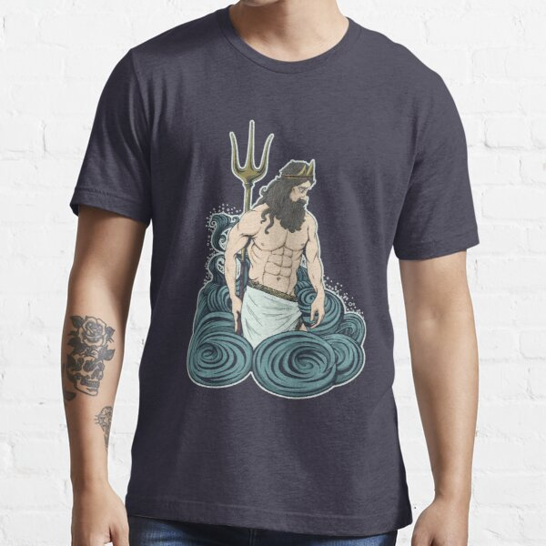 Poseidon contemplates Essential T-Shirt