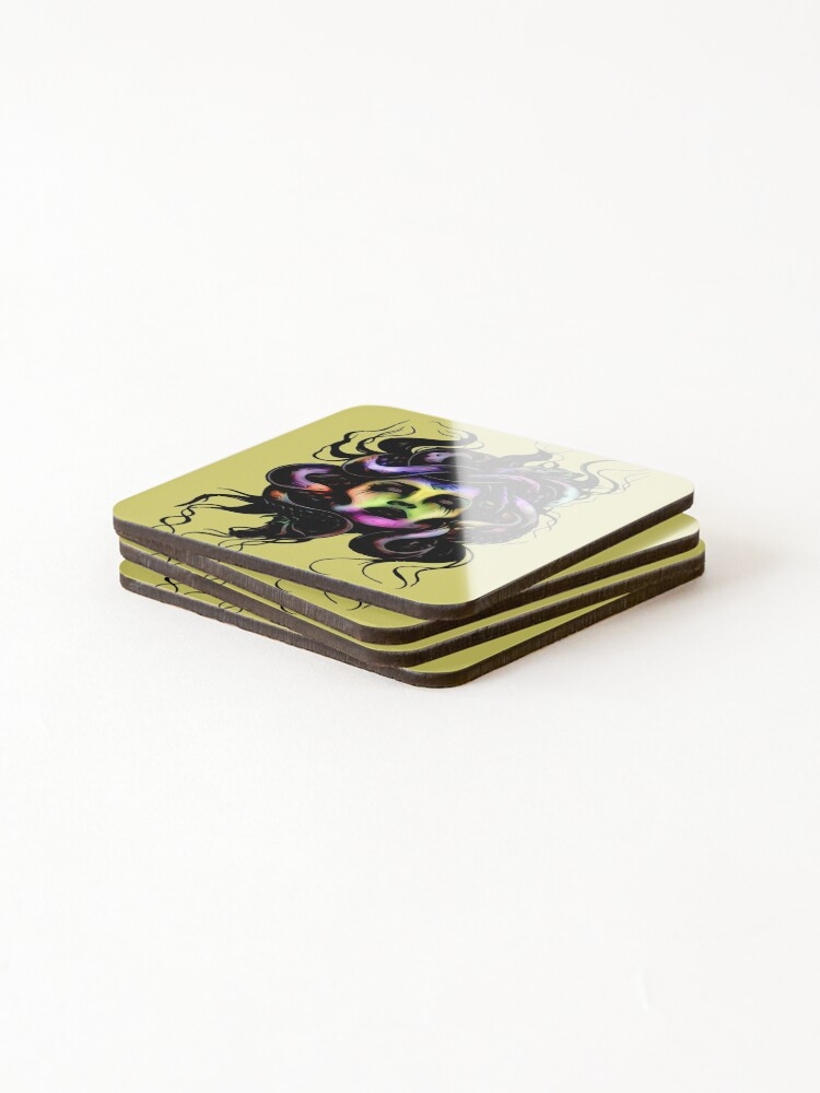 Alternate view of Medusa Coasters (Set of 4)