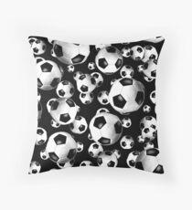 3D look soccer balls pattern  Floor Pillow