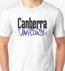 Canberra Unicorn Australia Raised Me Unisex T-Shirt