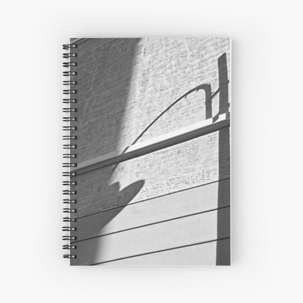 Shadow Lamp, Bolzano/Bozen, Italy Spiral Notebook