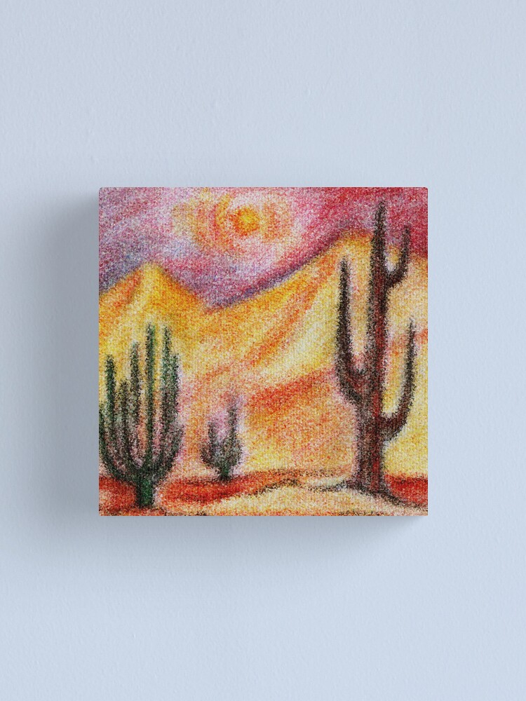 Alternate view of Desert Canvas Print