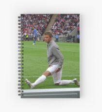 Beckham Warm Up Spiral Notebook