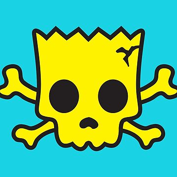 yellow Skull by CleverTrevor
