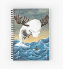 Cuaderno de espiral The search for the Moose Whale