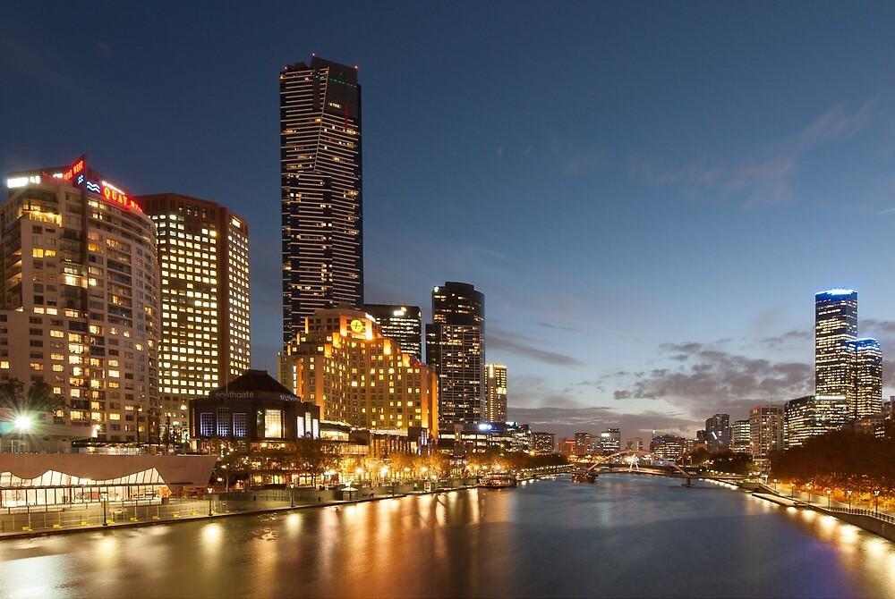 Yarra River Melbourne by Mark Eden