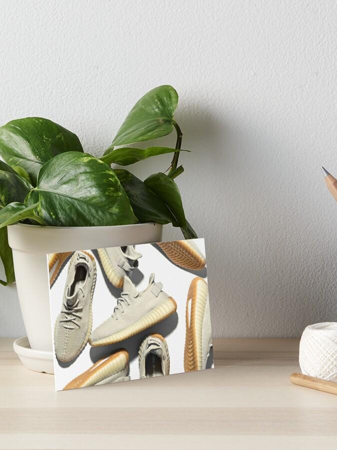 Adidas Yeezy Boost 350 V2 Sesame   Art Board Print