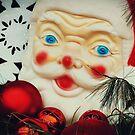 Vintage Santa by angelandspot