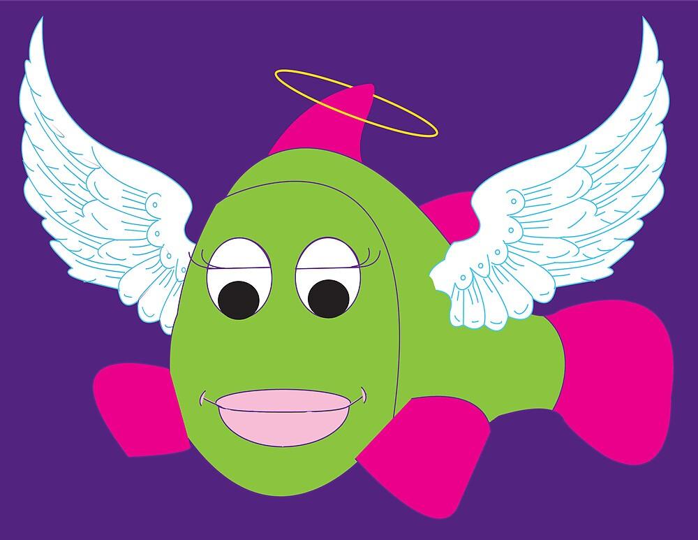 Angel Fish by khindorff