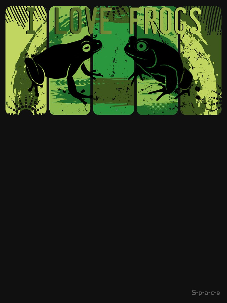 I love frogs by S-p-a-c-e