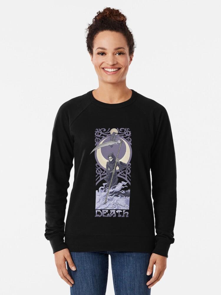 Alternate view of Death Lightweight Sweatshirt