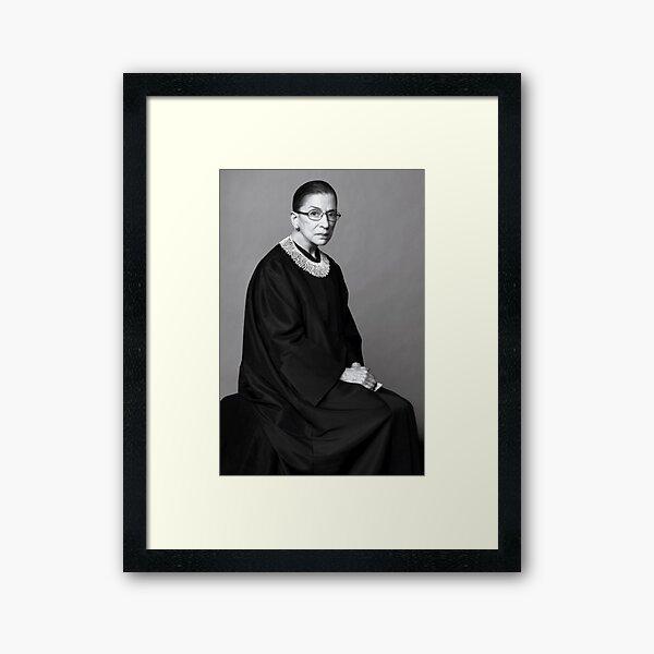 Ruth Bader Ginsburg  Framed Art Print