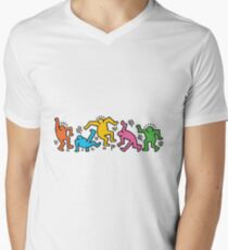 keithwalk Men's V-Neck T-Shirt