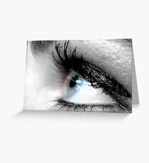 Eye Liner II Greeting Card