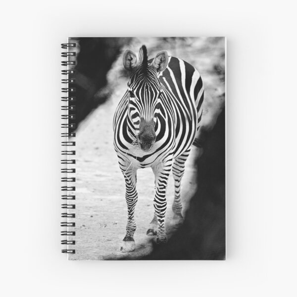 Zebra B&W Spiral Notebook