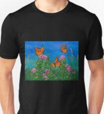 """""""Bouquet with Butterflies"""" Unisex T-Shirt"""