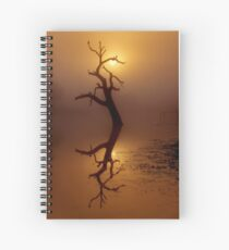 """Dawn Shroud"" Spiral Notebook"