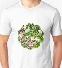 Fleur vitrail #1 T-shirt unisexe