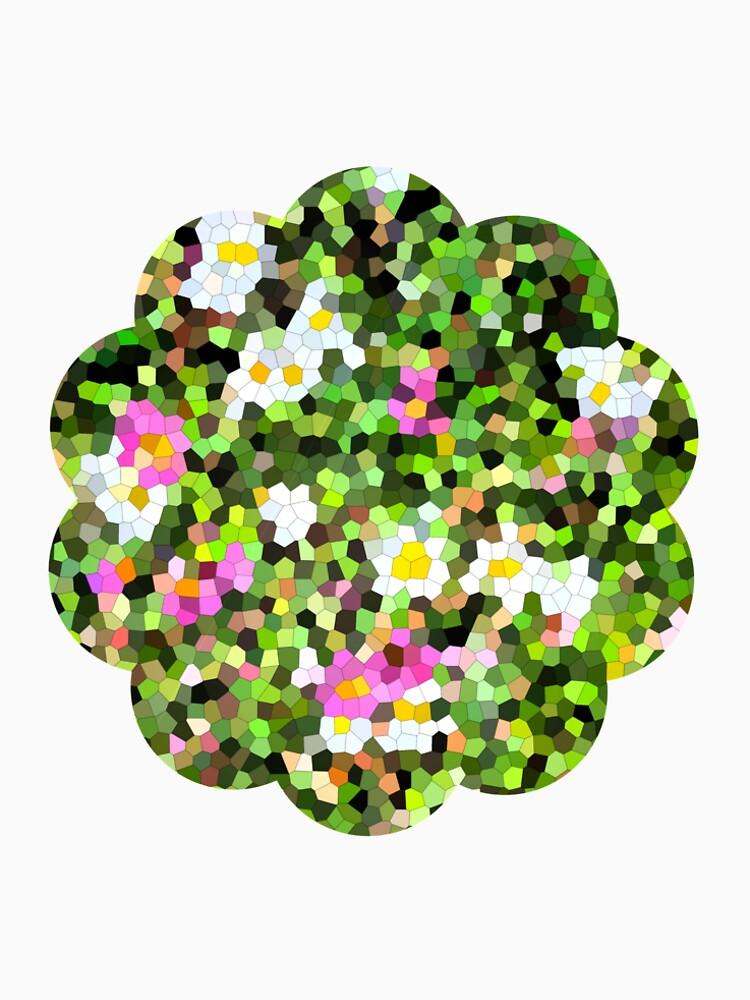 «Fleur vitrail #1» par RosaLeeDesign