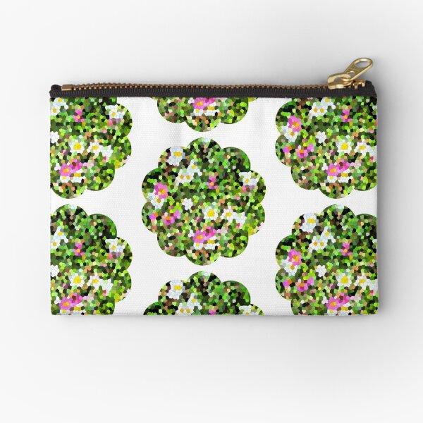 Fleur vitrail #1 Pochette