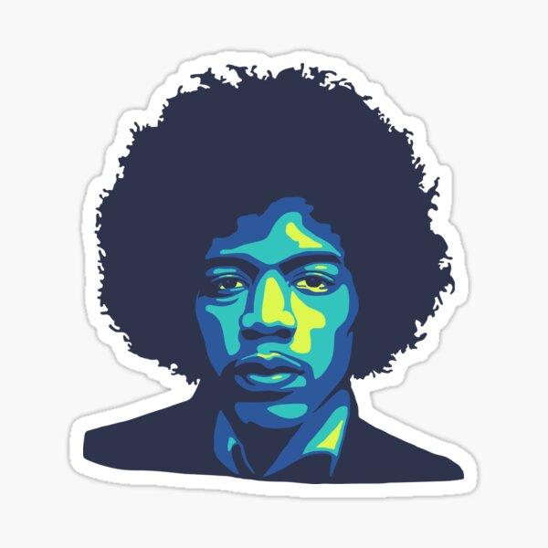 Jimi II Sticker