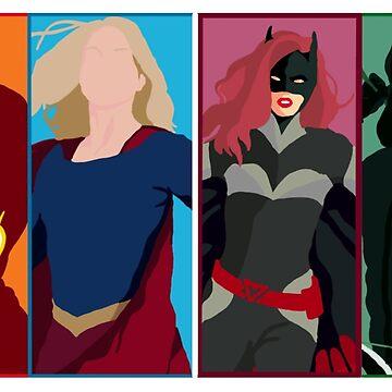 Superheroes 2  by Celesten