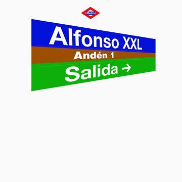 Alfonso XXL, Madrid by redretro