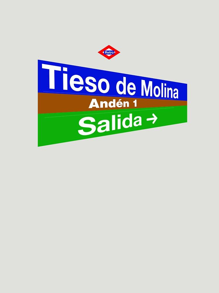 Tieso de Molina, Madrid by redretro