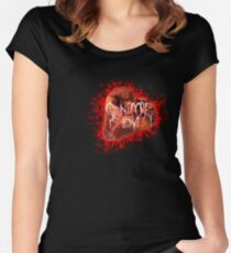 Grindcore is love! Women's Fitted Scoop T-Shirt