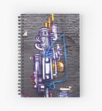 Cuaderno de espiral Artful Pipes