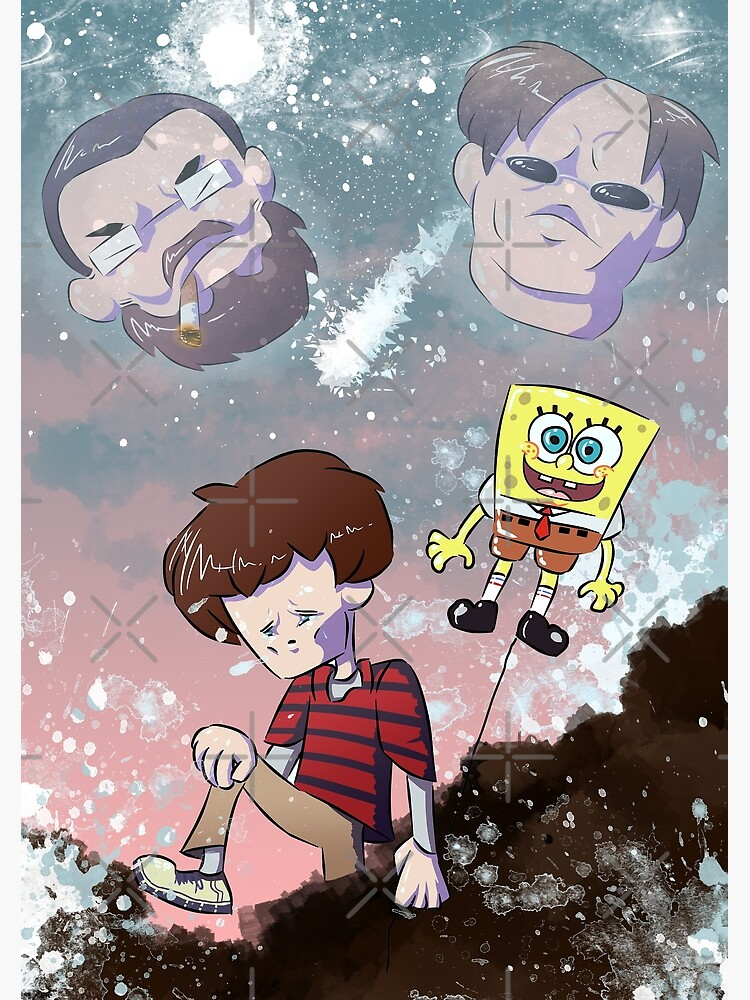 My Two Lovely Uncles Supermega Poster By Paint Likegoop Redbubble