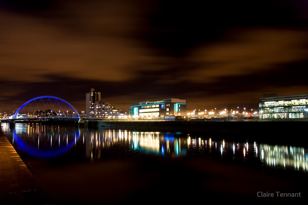 Glasgow Squinty Bridge by Claire Tennant