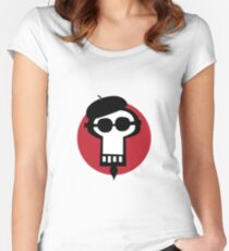 Get some cool skull. Women's Fitted Scoop T-Shirt