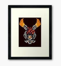 Mad Heart Framed Print