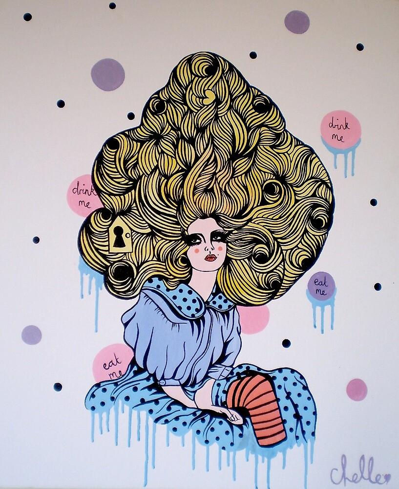 Alice Print by chellefelt